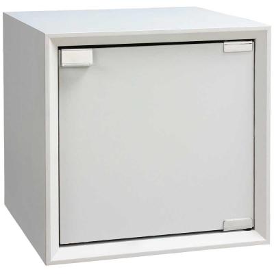魔術方塊36系統收納櫃/木門櫃-白色