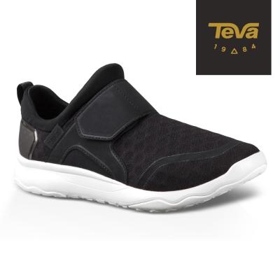 TEVA 美國 女 Arrowood Slip On 輕量休閒鞋 (黑)