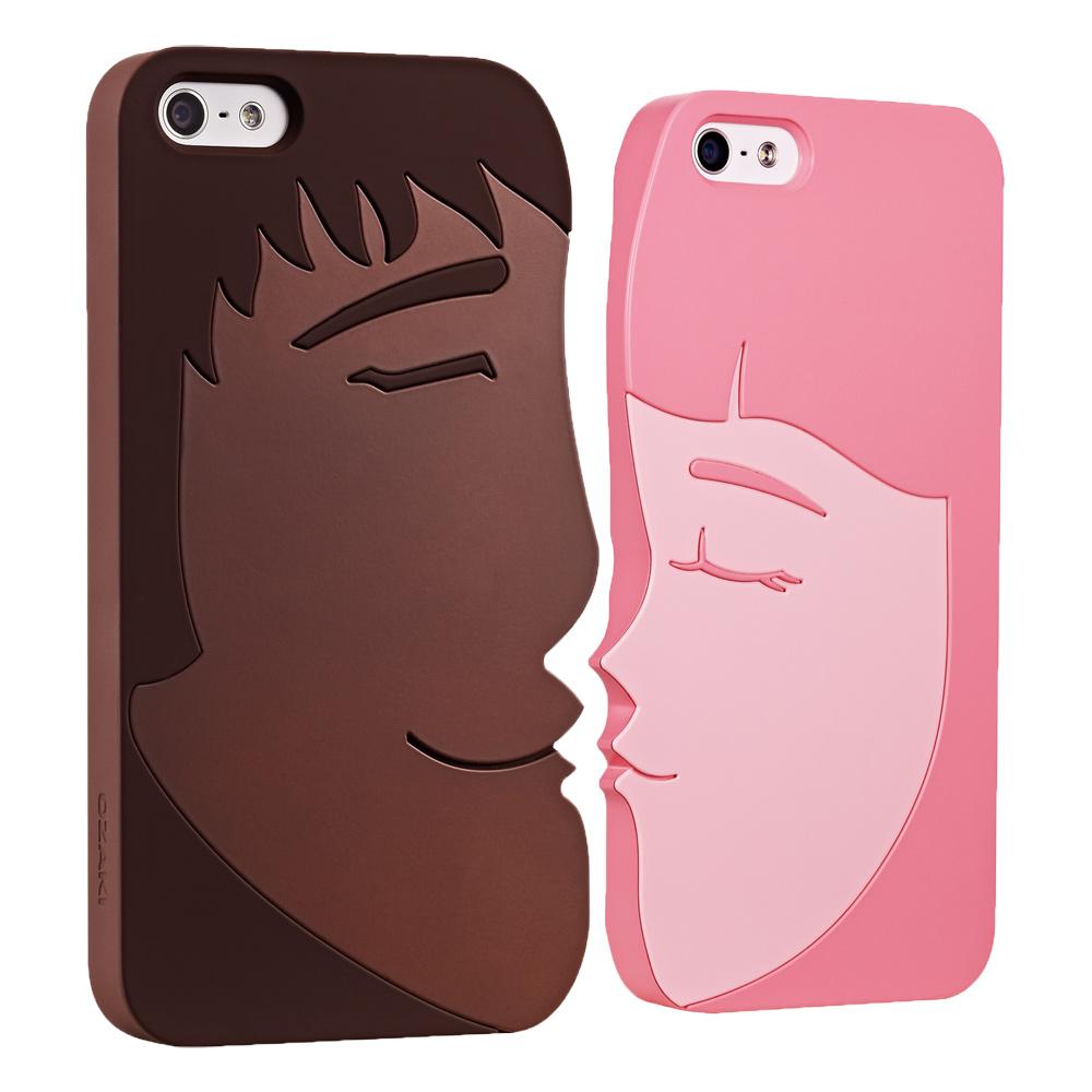 Ozaki O!coat Lover+ IPHONE 5/5S/SE 甜蜜情侶手機殼組