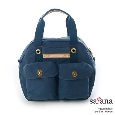 satana - 旅行後背包/保齡球包 - 午夜藍