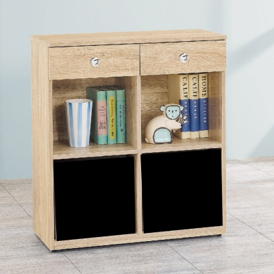 AS 愛寶耐磨橡木<b>3</b>尺原木色多功能置物櫃
