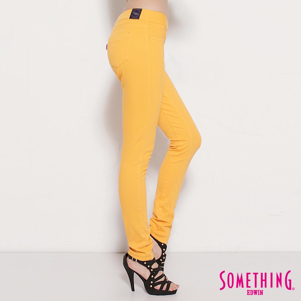 MEIDUSA  夏日繽紛  梅杜莎窄直筒激瘦舒適色褲-女款(桔黃色)