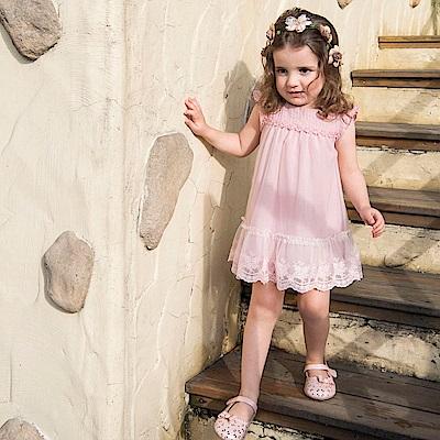 PIPPY 粉紅小公主洋裝 粉橙