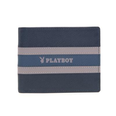 PLAYBOY-Current-海流系列-短夾-黑色