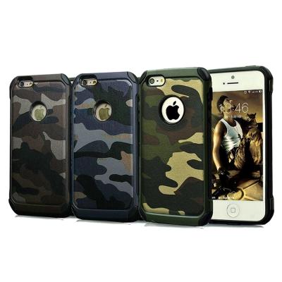 戰地風雲 iPhone 6s/6 4.7吋 迷彩皮革雙料防撞保護殼 手機殼