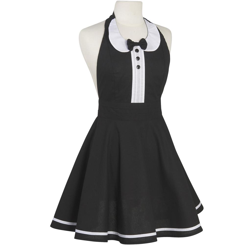 NOW 洋裝式圍裙(仕女黑)