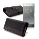 CB SONY XZ Premium / HTC U11 5.5吋 品味柔紋橫式腰掛皮套 product thumbnail 1