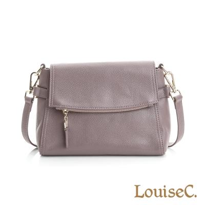 LouiseC. 都會率性肩背包- 紫色 02C01-0052A10