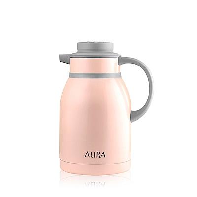 AURA艾樂 304不鏽鋼馬卡龍保溫壺2000ml(2色可選)