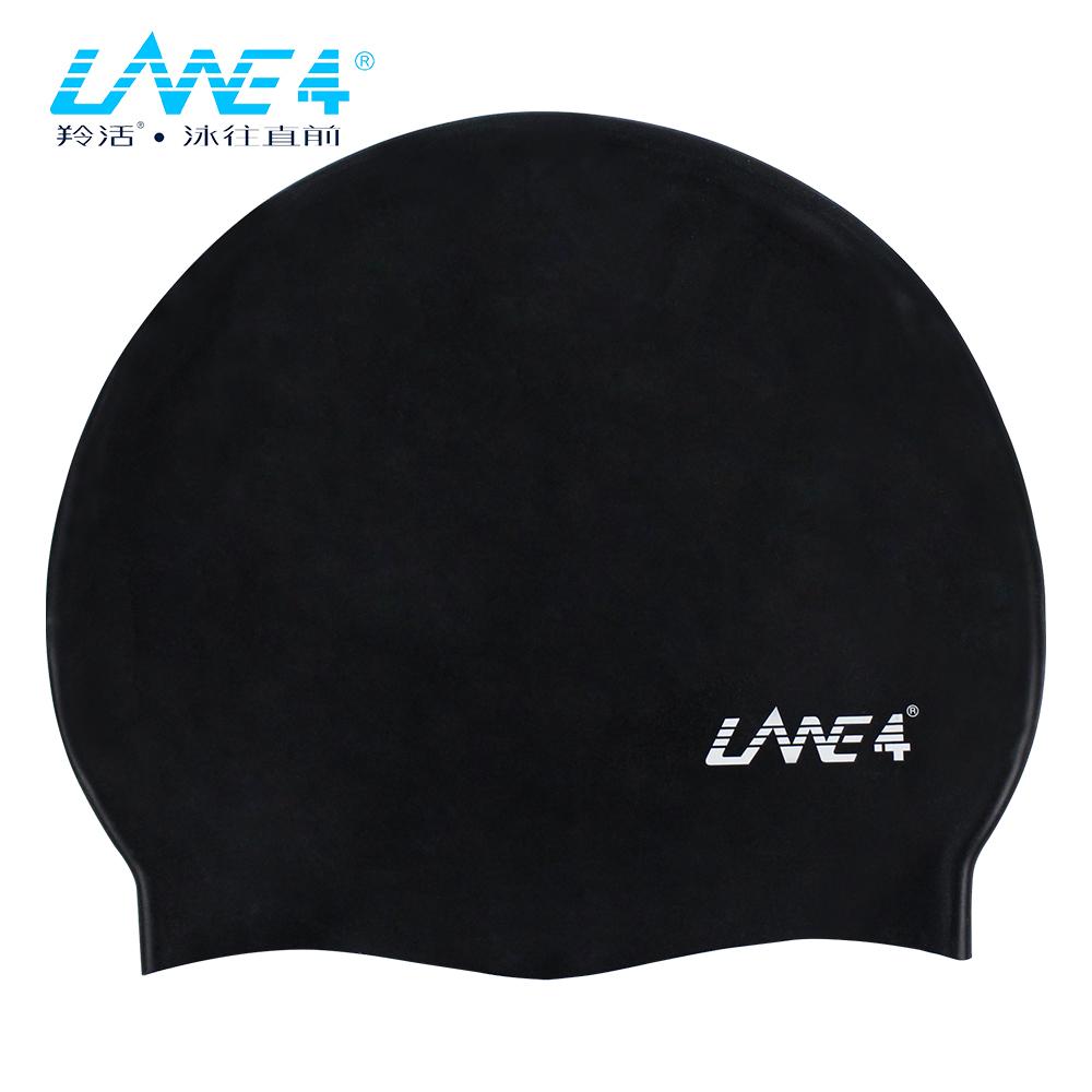 羚活 成人多色矽膠彈性泳帽 LANE4 SILICONE CAP