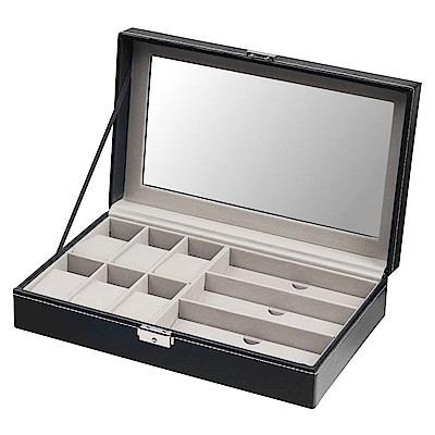TRENY  手錶 眼鏡 收納盒 - 經典皮革