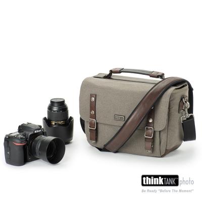ThinkTank創意坦克-尊爵系列經典單肩相機包-SG375(橄欖灰M)