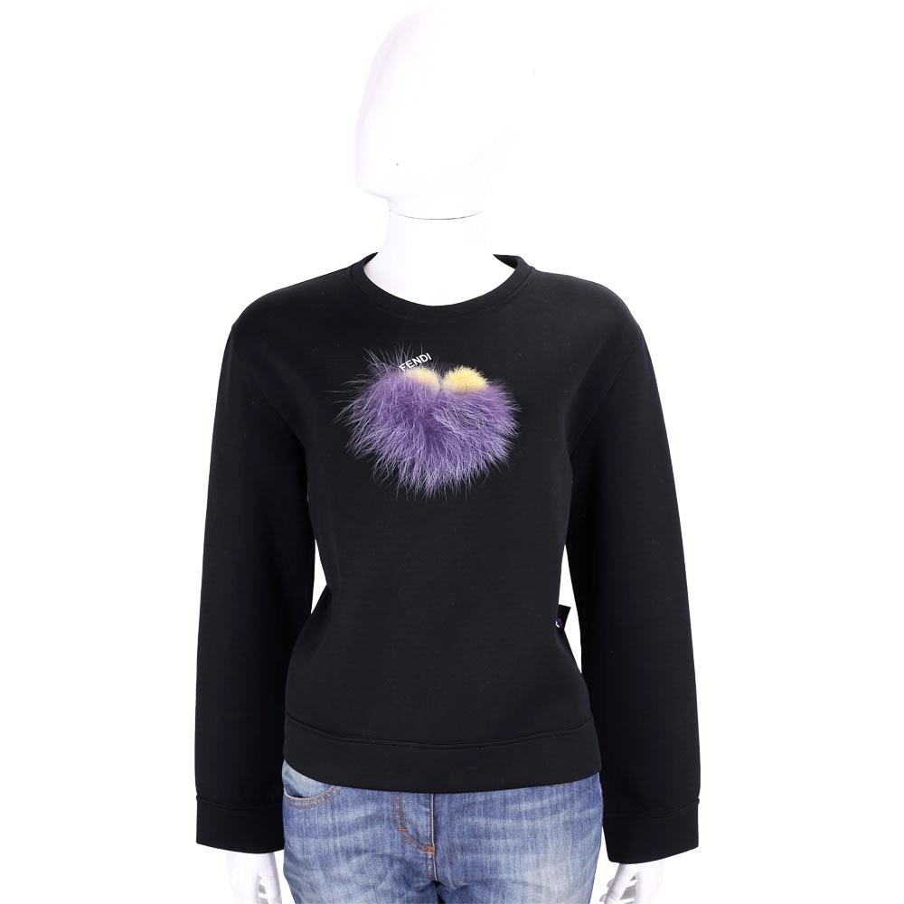 FENDI Bag Bugs 魔魔系列棉質長袖T恤