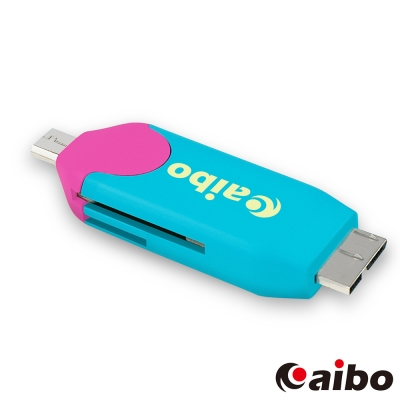 aibo OTG370 Micro USB3.0/2.0 OTG迷你讀卡機