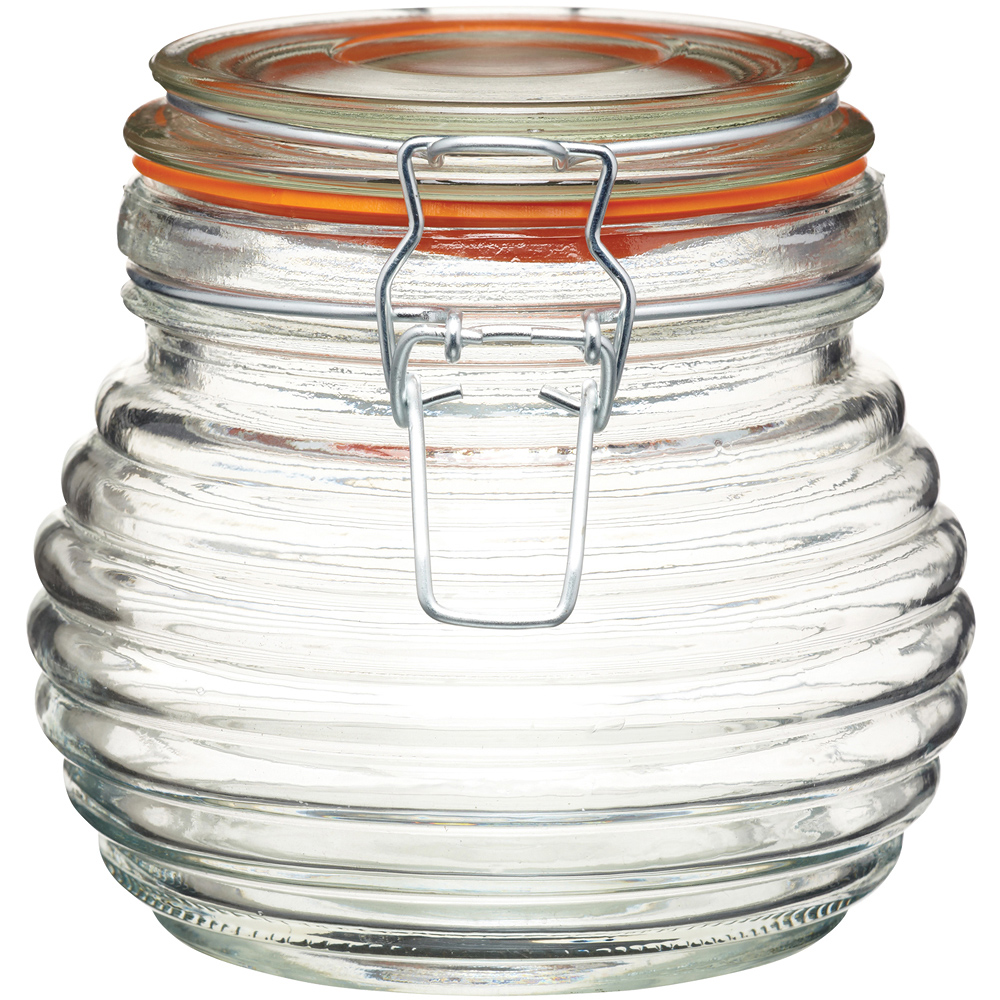 KitchenCraft 扣式蜂蜜密封罐(650ml)