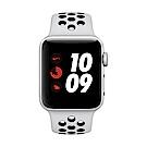 [無卡分期-12期]Apple Watch Nike+行動網路,38mm 銀鋁配黑色錶帶