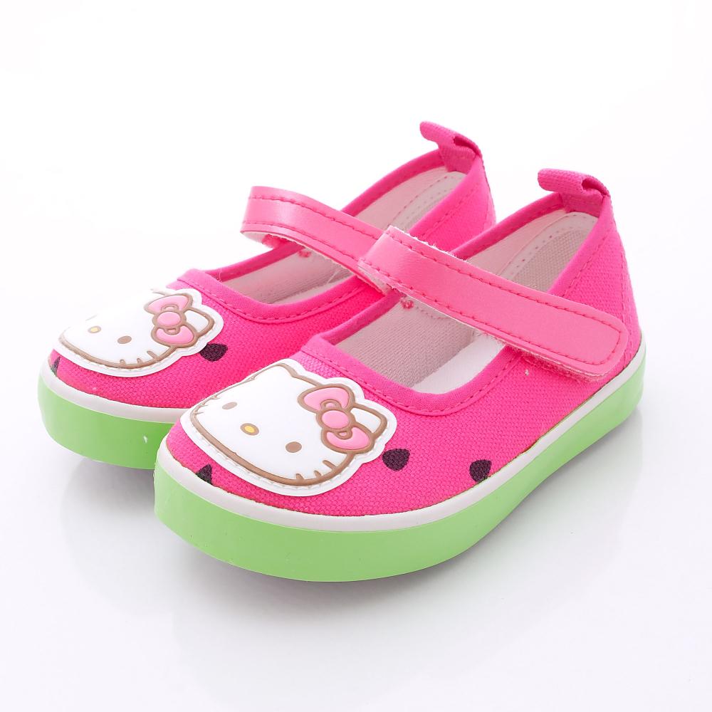 HelloKitty童鞋-可愛水果風休閒款-716208桃(小童段)HN