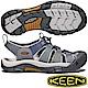KEEN 1018816鐵灰/灰藍 Newport Hydro男戶外護趾涼鞋 product thumbnail 1