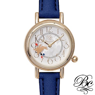 BELLUCY 奇幻夢鏡女錶(寶石藍)