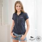 ROUSH 女生8顆釦合身版 polo衫 (4色)