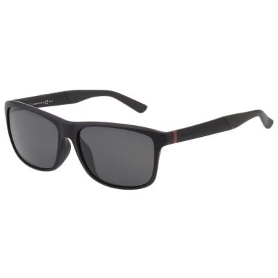 GUCCI- 帥氣運動款 太陽眼鏡(霧面黑)