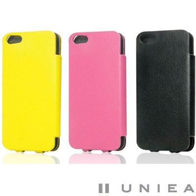 UNIEA S-Suit iPhone 5 側掀式皮革保護套