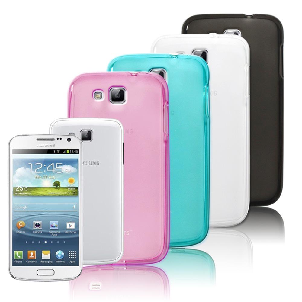 Gekors Samsung i9260 Premier 磨砂質感糖果色保護殼