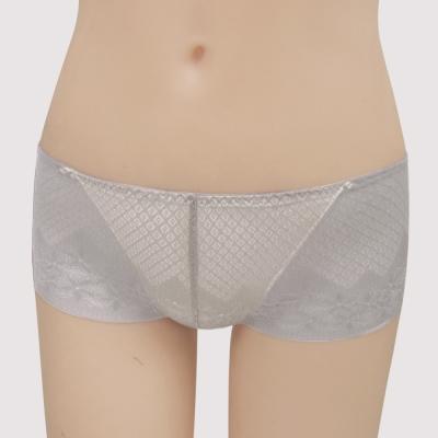 曼黛瑪璉-15AW水迷人系列一-低腰平口無痕褲-香藕灰