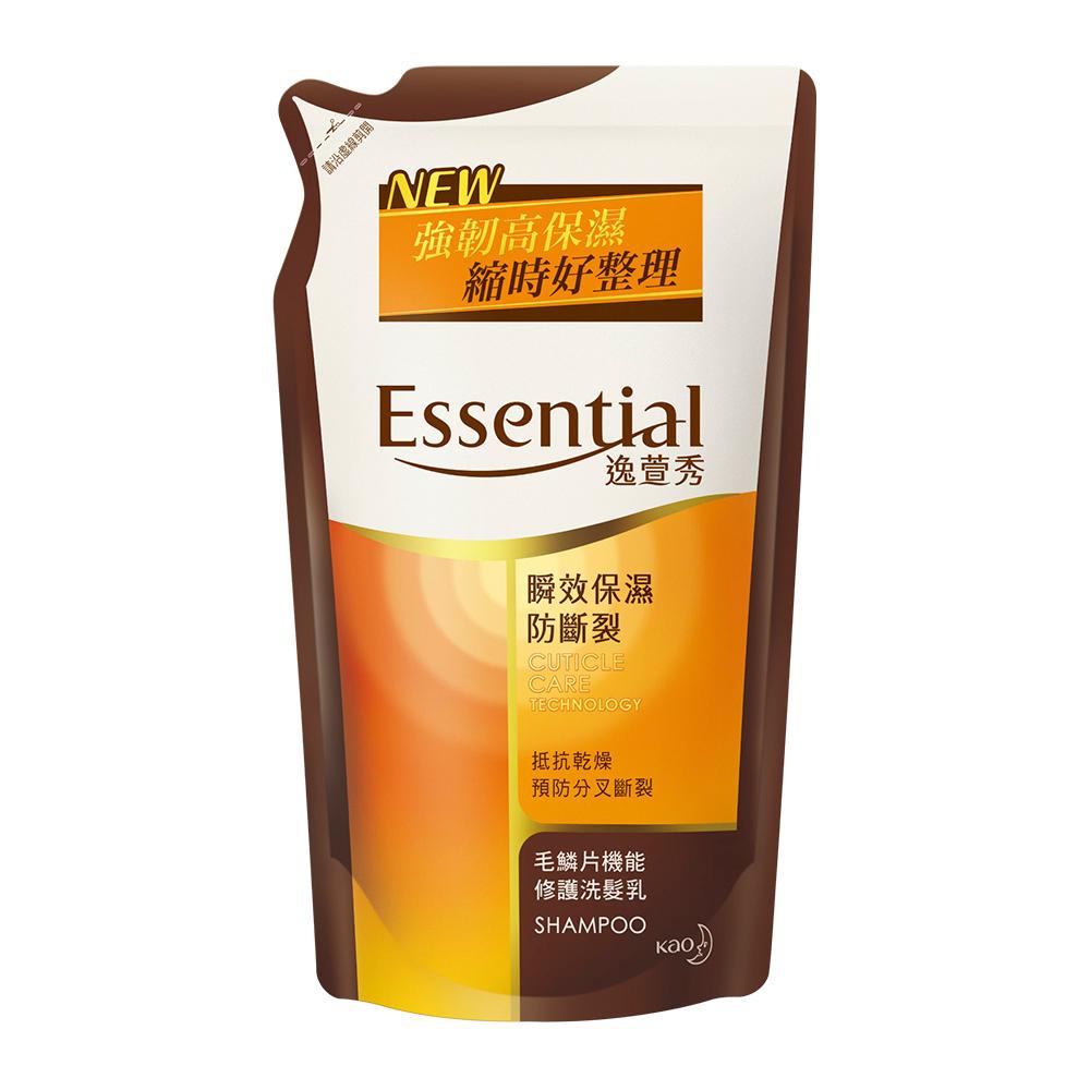 逸萱秀 瞬效保濕防斷裂洗髮乳補充包 (550ml)