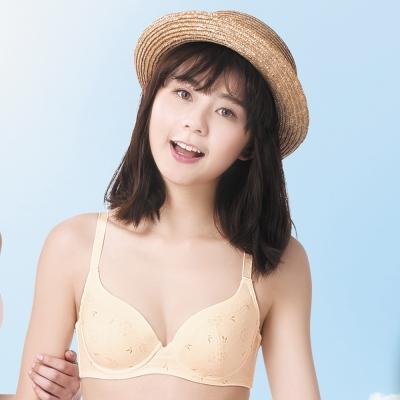 華歌爾 環保系列有機棉B-C罩杯內衣(天然黃)
