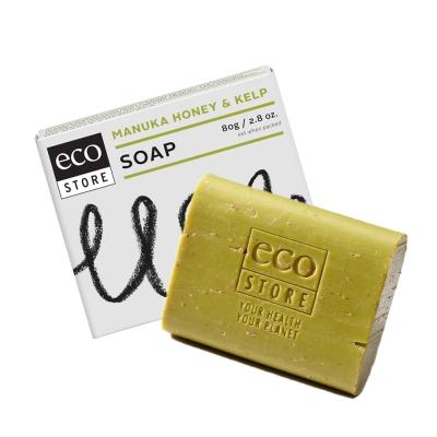 紐西蘭ecostore 純淨香皂-麥蘆卡蜂蜜海藻 80g