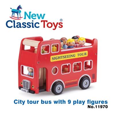 【荷蘭New Classic Toys】玩偶城市遊覽巴士 - 11970