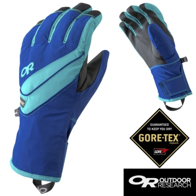 【Outdoor Research】女 CENTURION防風防水透氣止滑保暖手套/藍