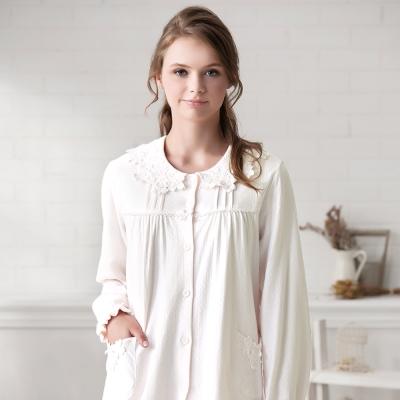 羅絲美睡衣 - 溫柔記憶長袖褲裝睡衣(米白色)