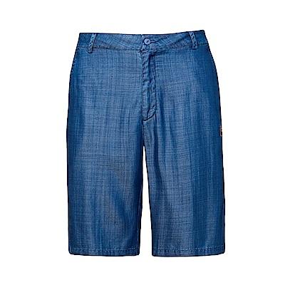 FILA 男牛仔短褲-牛仔藍 1SHS-1708-BU