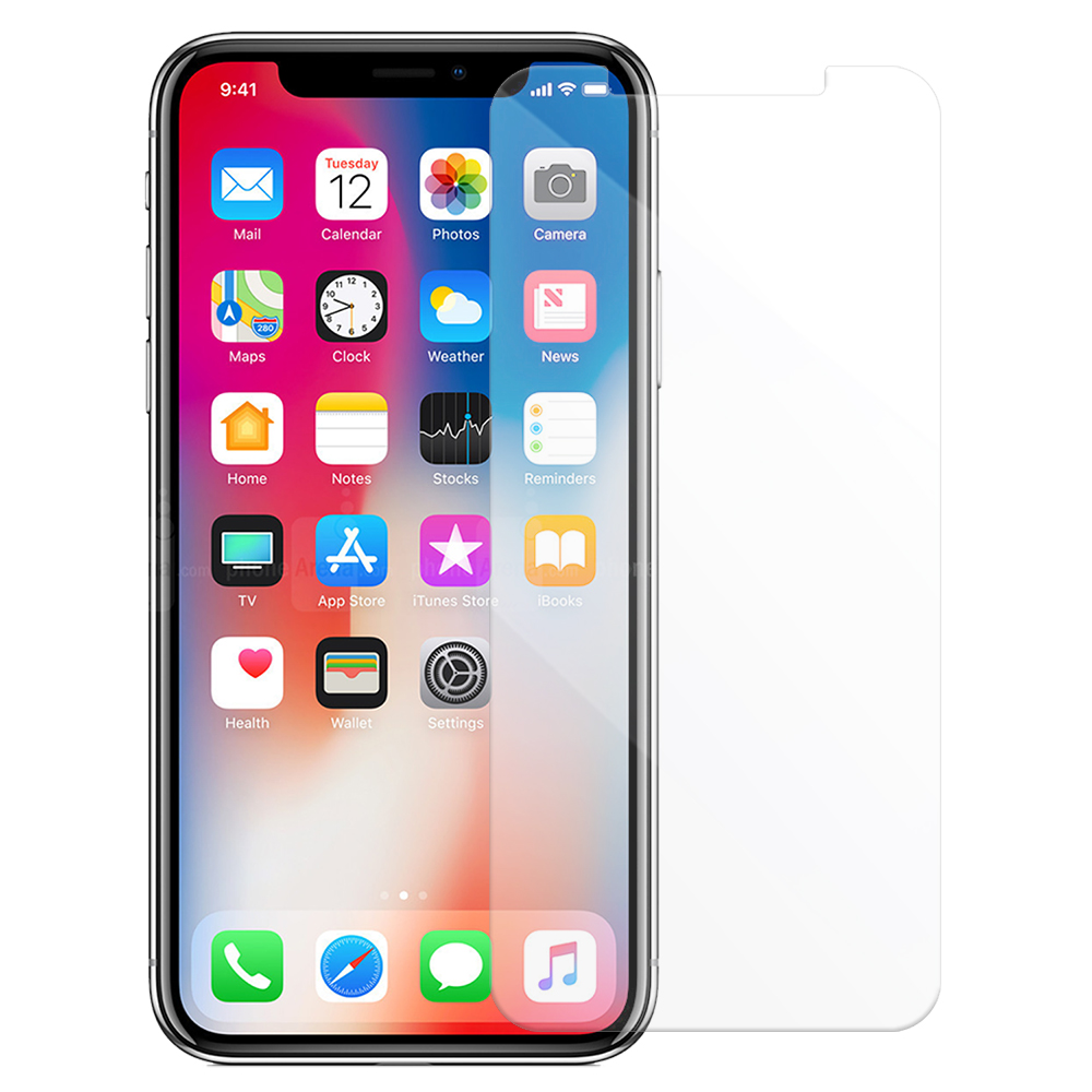 Metal-Slim APPLE iPhone X  9H鋼化玻璃保護貼