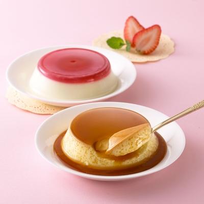 【依蕾特】經典布丁奶酪禮盒 任選(8盒80杯)