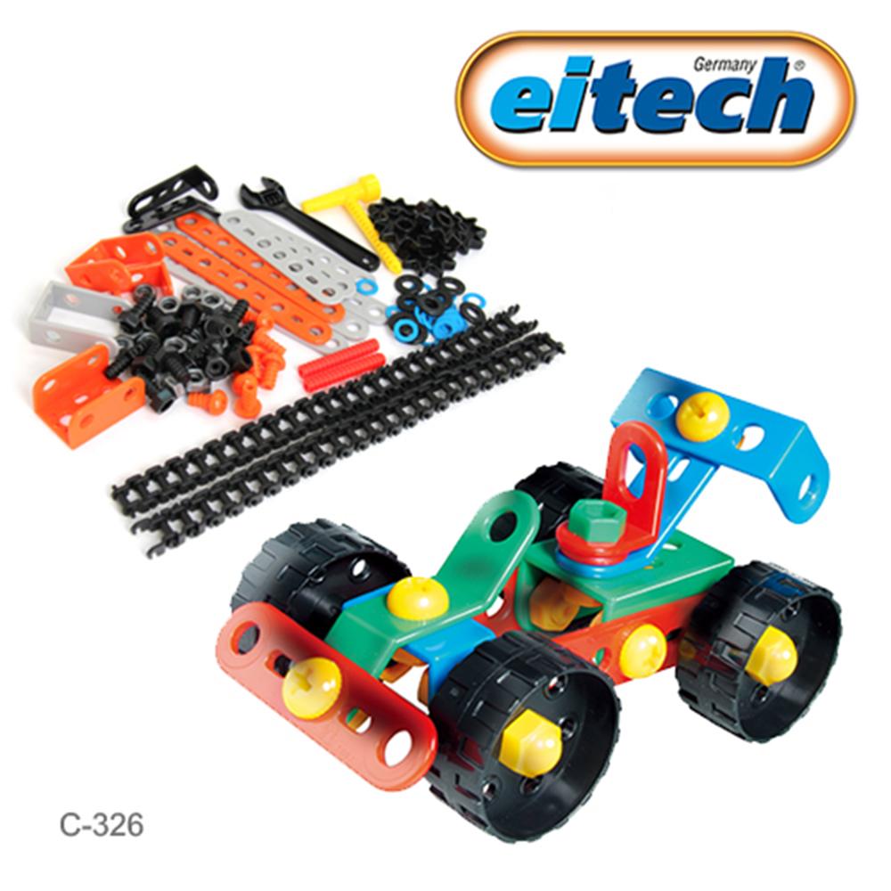 德國eitech基礎系列玩具-衝鋒賽車 C326