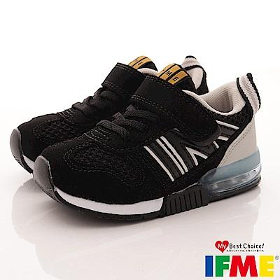 IFME健康機能鞋 氣墊吸震進化款 EI01600黑(小童段)