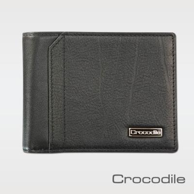 Crocodile Knight系列拉鍊上翻短夾   0103-08603