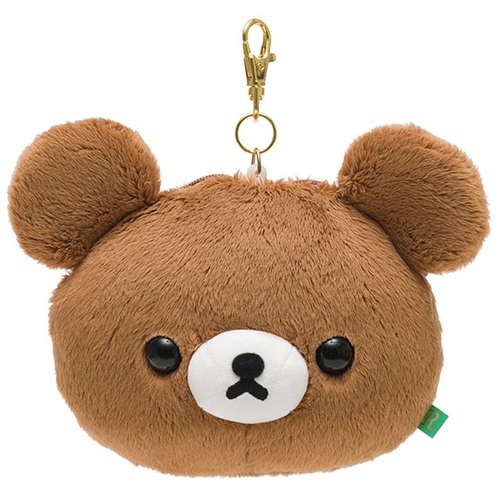 拉拉熊蜂蜜森林小熊系列毛絨票夾零錢包。蜂蜜小熊