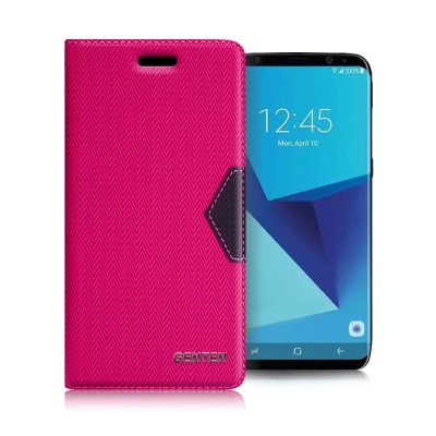 GENTEN Samsung Galaxy S8 簡約守護磁力皮套