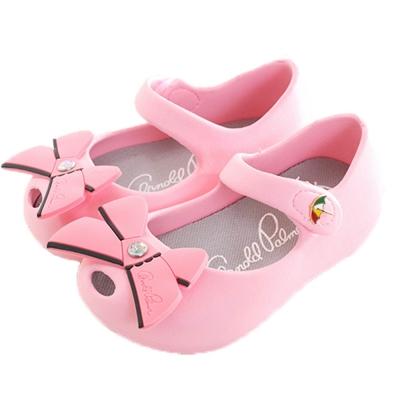 阿諾帕瑪 蝴蝶結 魔鬼貼 輕量美型鞋 粉 sk0215魔法Baby