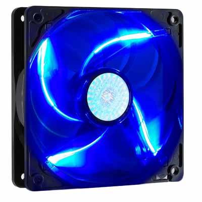 Cooler Master 九葉鎌刀扇- 藍光LED(12公分)