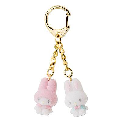 Sanrio 美樂蒂甜蜜利茲姆系列短絨娃娃吊飾鑰匙圈