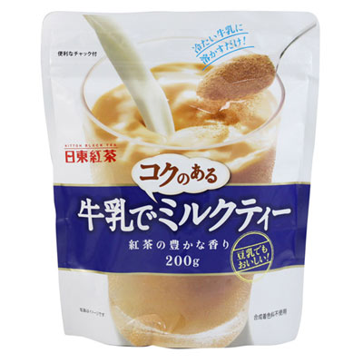 《日東紅茶》冷泡便利奶茶 (200g)