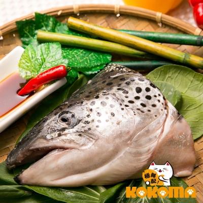 極鮮配888任選 挪威鮭魚頭 (400±10%/包)-1包