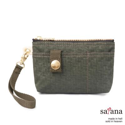 satana - 實用拉鍊化妝包/零錢包 - 午夜森林