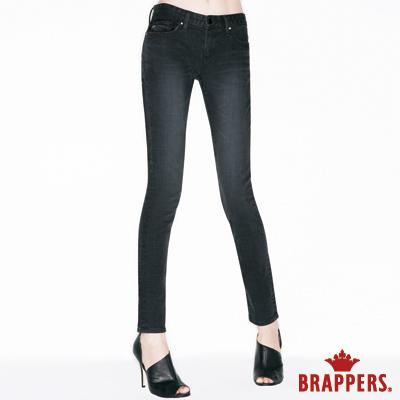 BRAPPERS 女款 新美腳ROYAL系列-女用彈性AB褲-黑灰