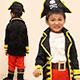 天使霓裳 加勒比小海盜 萬聖節童裝系列(黑)